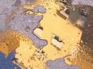 yellow puddle...