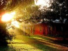 Middle Way Temple - Brazil - rain and sun