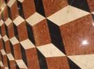 Tiles the floor