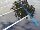 parking lot puddle