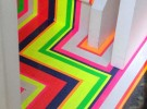 zig zag  floor and stairs